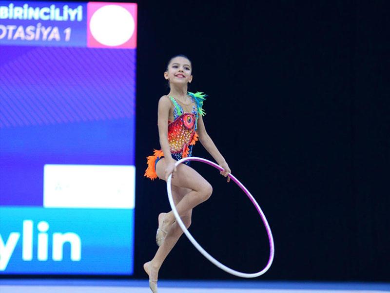 Bədii gimnastika üzrə 25-ci Azərbaycan Birinciliyinin üçüncü günü başlayıb