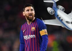 Messi 15 milyon dollara təyyarə aldı - FOTO