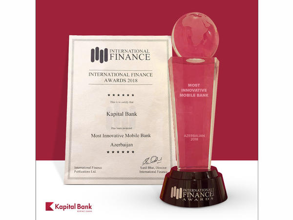 """BirBank tətbiqi """"Ən innovativ mobil bank"""" seçilib"""