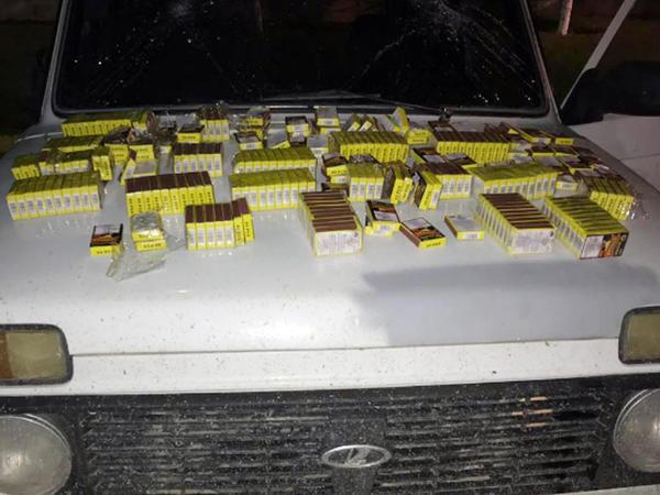 Gürcüstandan gələn avtomobildə külli miqdarda pirotexniki vasitə aşkarlandı