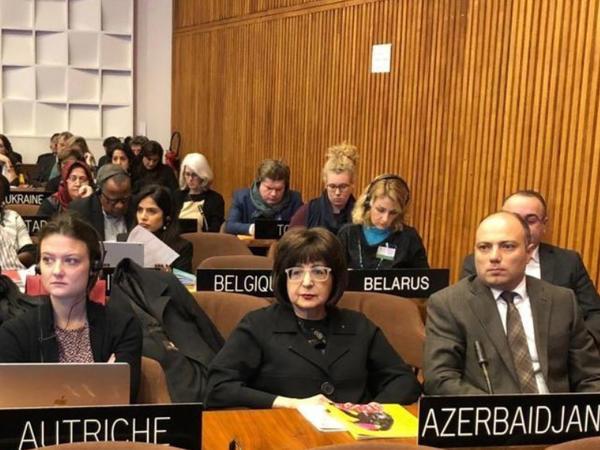 Mədəniyyət nazirinin müavini YUNESKO Komitəsinin sessiyasında iştirak edir - FOTO