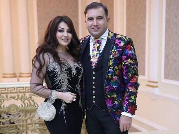 Azərbaycanlı müğənninin toyundan FOTOlar