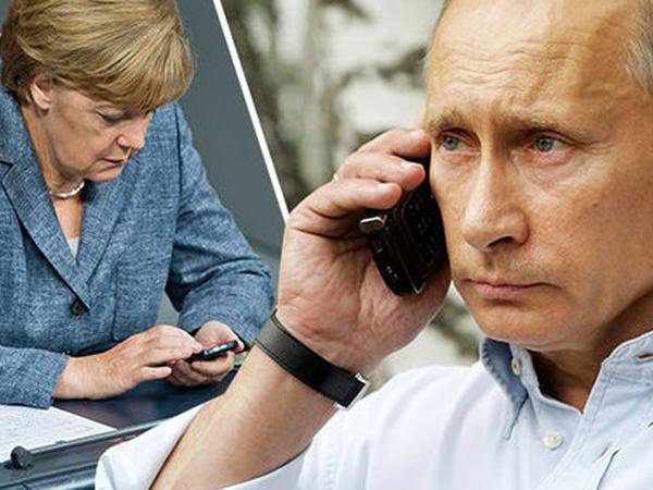 Putin və Merkel Rusiya qazını müzakirə ediblər