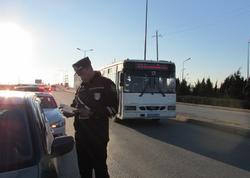 Bakıda təkcə bir rayonda 30-dan çox sürücü saxlanıldı - FOTO