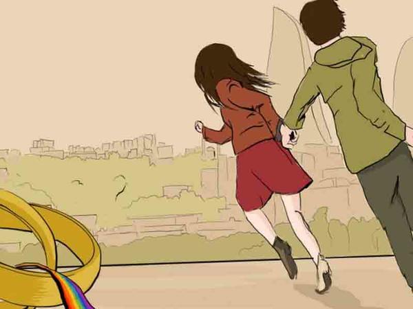 """Qohum-qonşuya görə... Azərbaycanda geylərlə lesbiyanlar necə olur ki, <span class=""""color_red"""">biri-birilə evlənirlər?</span>"""