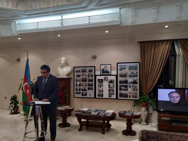 Küveytdə ulu öndərin xatirəsi anılıb - FOTO