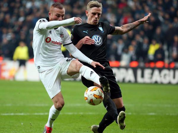 """""""Beşiktaş"""" Avropa Liqası ilə vidalaşdı - <span class=""""color_red"""">VİDEO - FOTO</span>"""