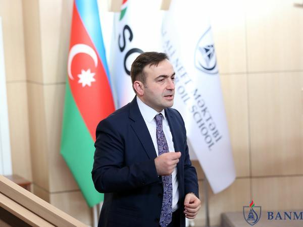 BP-nin vitse-prezidenti Bəxtiyar Aslanbəyli Bakı Ali Neft Məktəbində master klass keçdi - FOTO