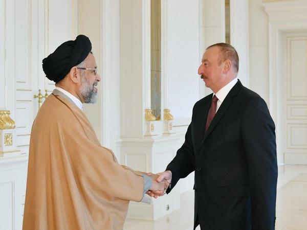 Prezident İlham Əliyev İranın informasiya və milli təhlükəsizlik nazirini qəbul edib
