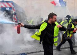 Paris yenə qarışdı: 7 yaralı, 168 nəfər tutuldu - YENİLƏNİB - FOTO