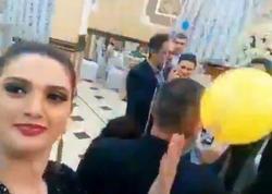 Azərbaycanlı aparıcı oğlunun toyunda mahnı oxudu - VİDEO