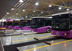 Bakıya AVRO-6 standartlı yeni avtobuslar gətirildi
