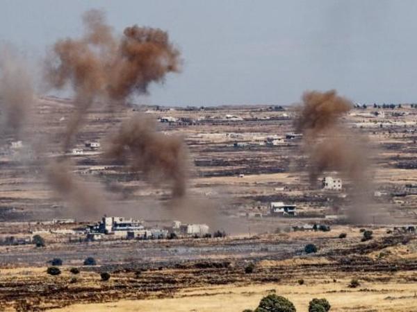Silahlılar Hələb, Latakiya və Hamada yaşayış məntəqələrini atəşə tutublar