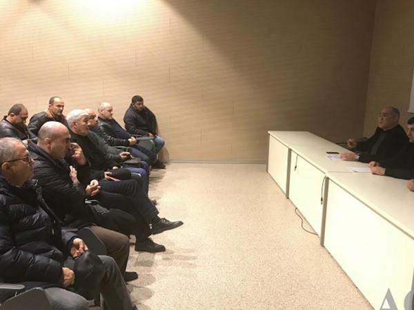 Federasiyadan məşqçilər üçün seminar