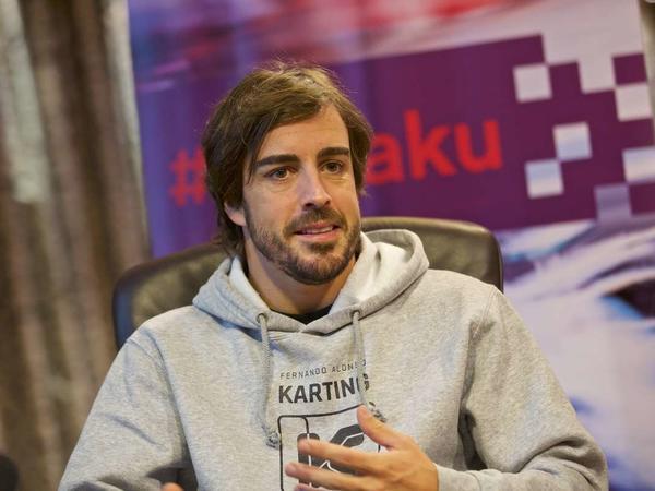 """Fernando Alonso: """"2018-ci ildə ən yaxşı yarışım Bakıda oldu"""""""