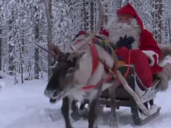 """Laplandiyadalı Santa: <span class=""""color_red"""">Biz təbiətə kömək edə bilərik</span>"""