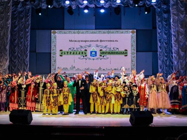 """Azərbaycan """"Zolotoy klyuçik"""" adlı festivalda iştirak edib - FOTO"""