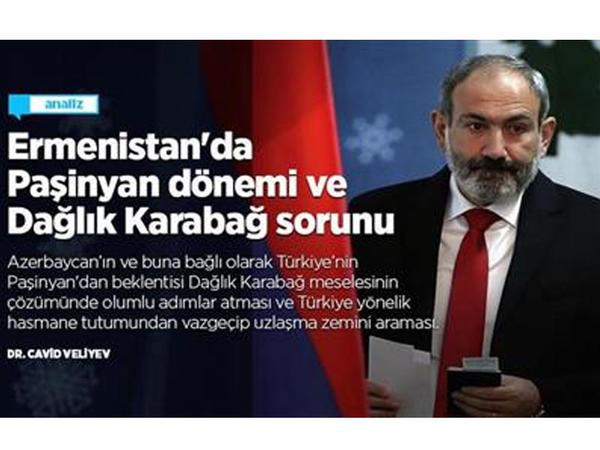 Ermənistanda Paşinyan dövrü və Dağlıq Qarabağ problemi