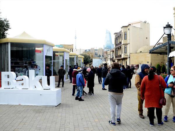 Azərbaycana gələn turistlərin sayı 6,1 faiz artıb