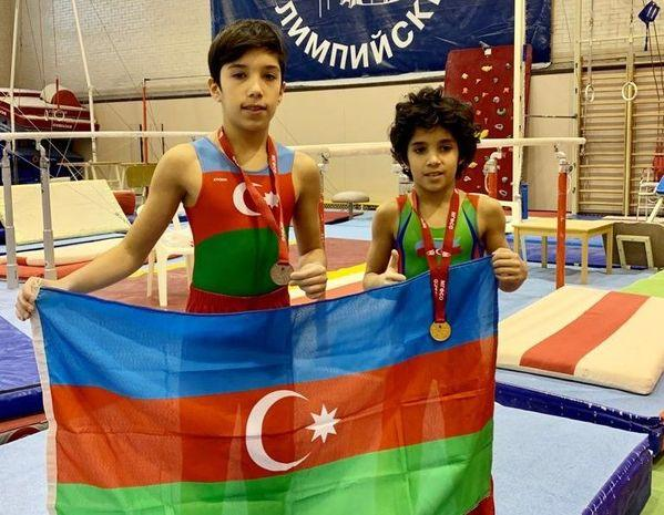 Azərbaycanın iki gimnastı Moskvada medal qazandı -