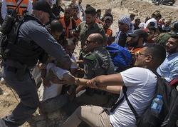 İsrailin təhlükəsizlik qüvvələri bu il 6489 fələstinlini saxlayıb