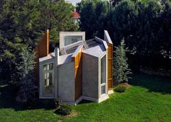 Futuristik dizaynlı emalatxana - FOTO