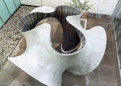 Meksikada beton pavilyon - FOTO
