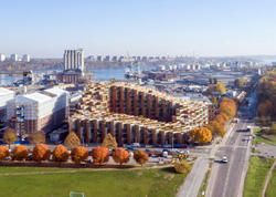 Stokholmda yeni yaşayış binası - FOTO