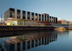 Norveçdə balıqçılıq kompleksi - FOTO