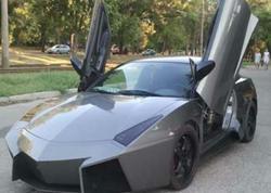 "Mühəndis evində ""Lamborghini"" istehsal etdi - FOTO"