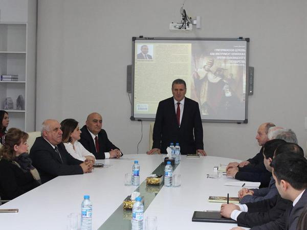 """Ramiz Mehdiyevin kitabının təqdimat mərasimi keçirildi - <span class=""""color_red""""> FOTO</span>"""