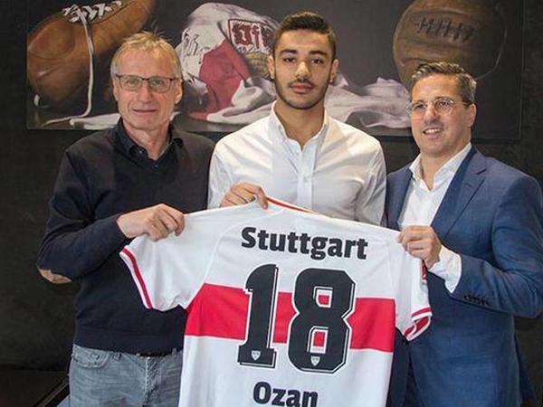"""""""Qalatasaray""""ın futbolçusu """"Ştutqart""""da"""