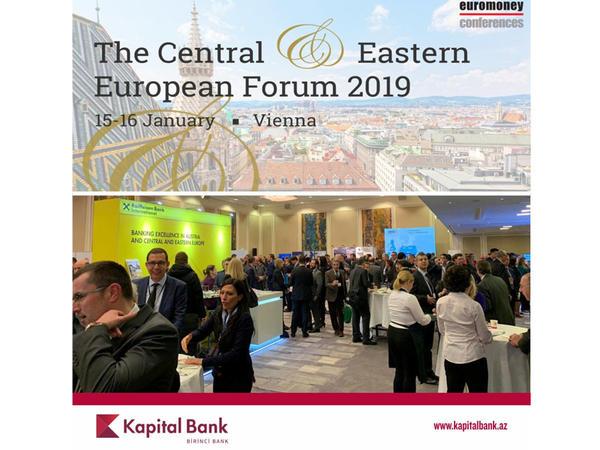 Kapital Bank Euromoney - 2019 forumunda iştirak edir