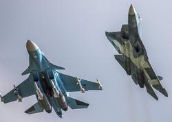 Rusiyanın iki qırıcısı havada toqquşdu