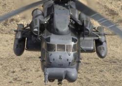 Türkiyədə hərbi helikopter qəza enişi edib