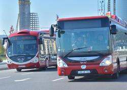 DİQQƏT! Sabah bəzi avtobusların hərəkəti dəyişdiriləcək