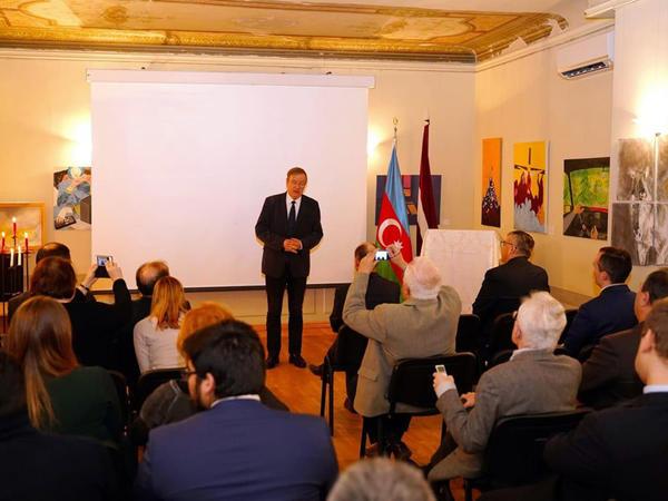 Bakıda və Riqada yanvarın 20-də törədilmiş faciələr anılıb - FOTO