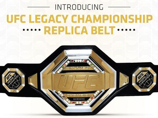 UFC yeni döyüş kəmərini təqdim edib