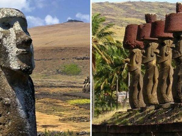 """Pasxa adasındakı nəhəng daş heykəllərin sirri açıldı - <span class=""""color_red"""">FOTO</span>"""