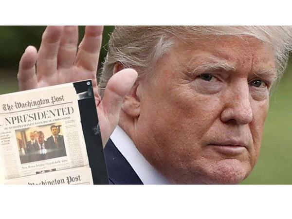 """Vaşinqton Post"": Tramp istefa verib, Krıma qaçdı"
