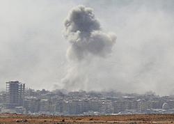 İsrail ordusu Suriyada İranın silah anbarlarına hücum edir