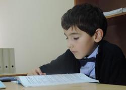 7 yaşlı azərbaycanlı vunderkind xarici və yerli təhsil müəssisələrindən təkliflər alır - FOTO