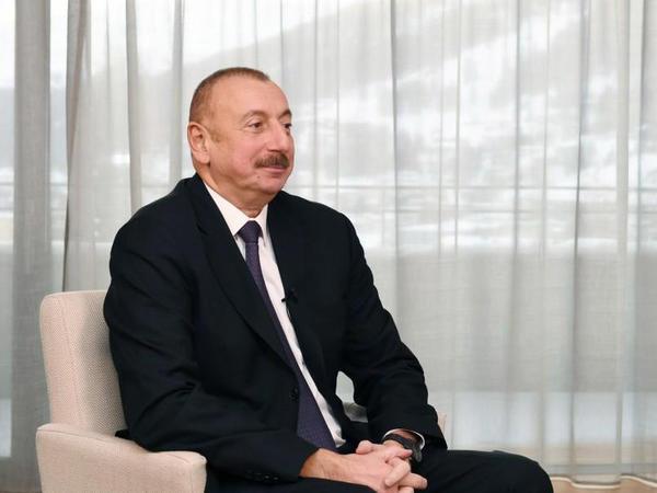 Azərbaycan Prezidenti: Biz skeptik yanaşmaya sözlərlə deyil, atdığımız addımlarla, gördüyümüz işlə cavab verməliyik