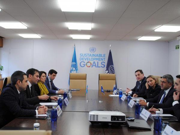 Dünya Turizm Təşkilatı ilə Azərbaycan Dövlət Turizm Agentliyi arasında saziş imzalanıb - FOTO