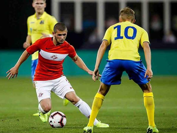 "Ayaz Quliyev ""Spartak""da debüt etdi"