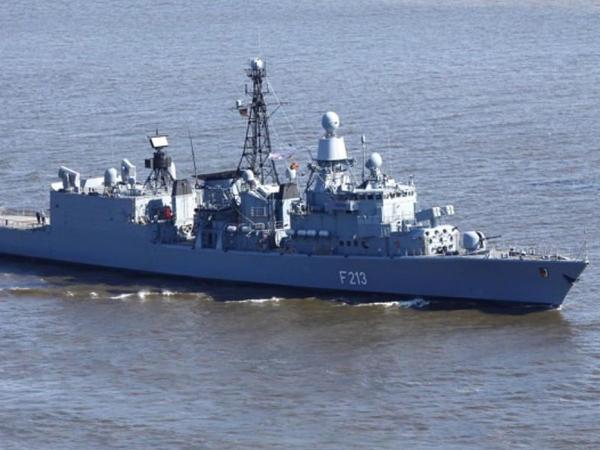 Almaniyanın Hərbi Dəniz Donanması Liviya sahillərində fəaliyyətini azaldır