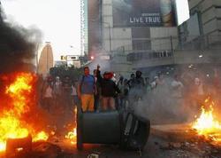 """Karakasda yenidən partlayışlarla müşayiət olunan toqquşmalar başladı - <span class=""""color_red"""">218 nəfər həbs edilib - VİDEO </span>"""