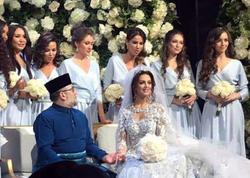 İki aylıq sevgi: Malayziya kralı Moskva gözəlindən boşanır  - FOTO
