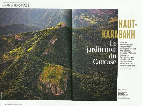 Fransa jurnalından Azərbaycana qarşı təxribat