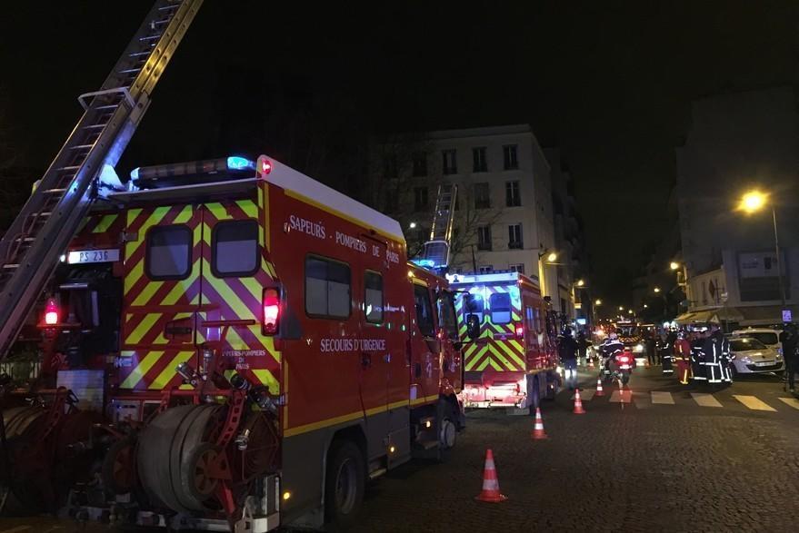 Fransada güclü yanğın: ölənlər və xəsarət alanlar var - FOTO